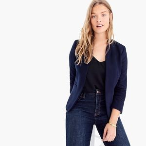 J.Crew: Going-out Blazer In Stretch Twill in Navy
